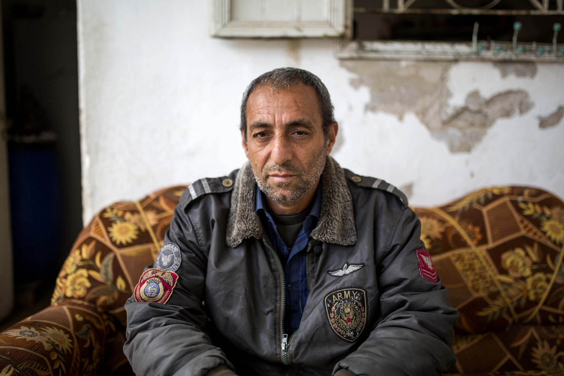 Abdelhadi Majdalawi likes to chat about politics and his past.