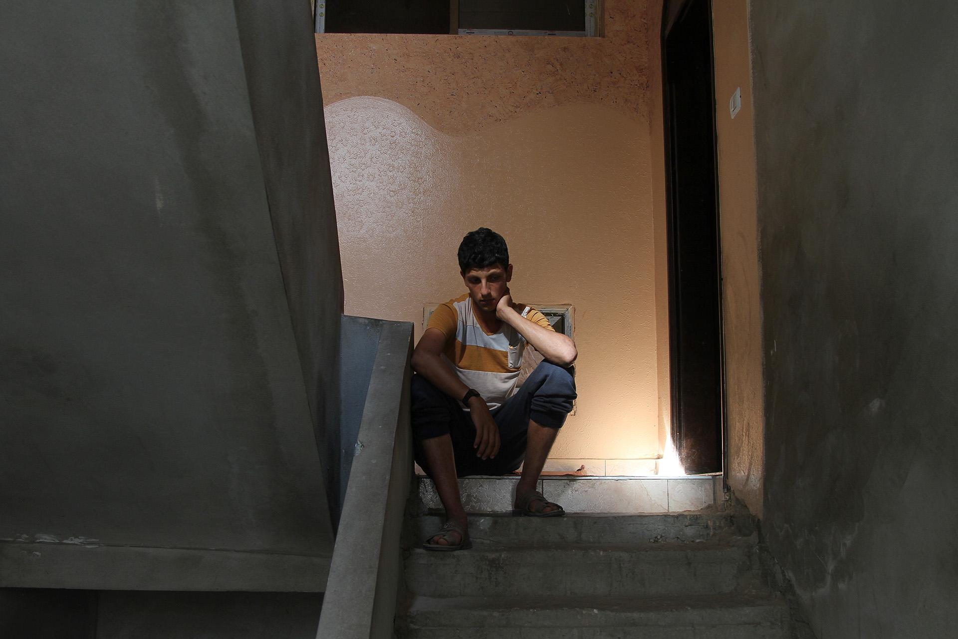 « Le garçon est brisé » DIT SALEM, LE PÈRE DE MOHAMMED.