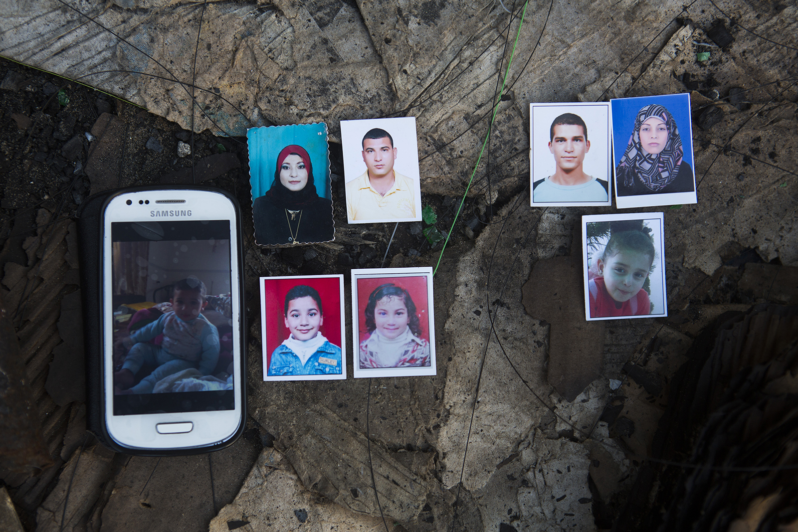 30 JULY 2014 Eight members of the Khalili family were killed while waiting to be evacuated.