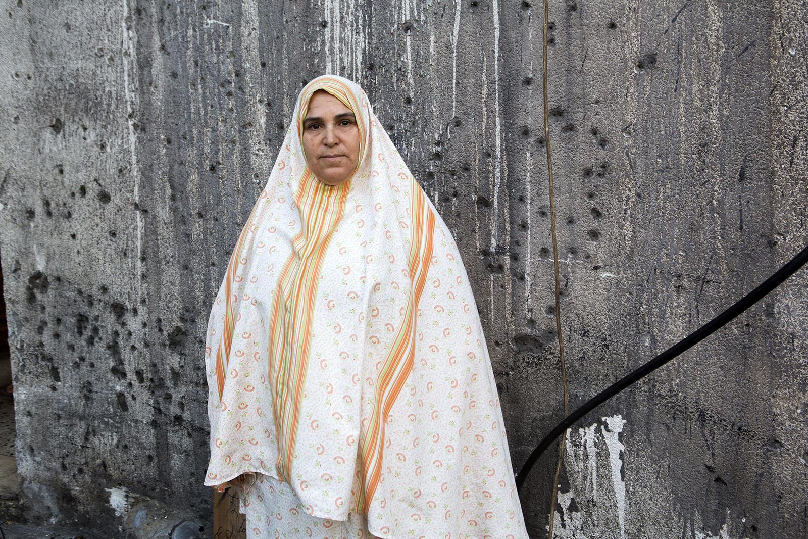 Comment peut-on obtenir nos droits?  – demande NajjaAl-Khalili qui a perdu deux fils et quatre petits-enfants dans l'attaque.